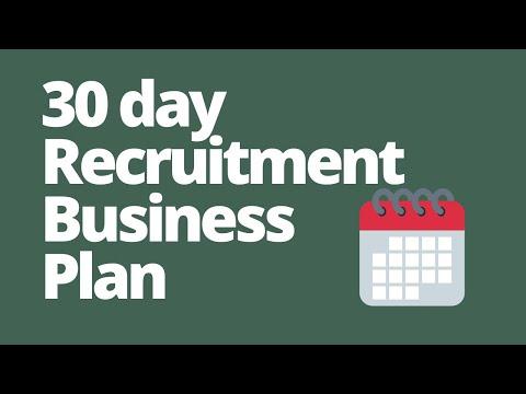 , title : 'Startup Recruitment Agency Business Plan - First 30 days running a recruitment business from home