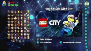 LEGO Dimensions Chase McCain from LEGO City Character Showcase