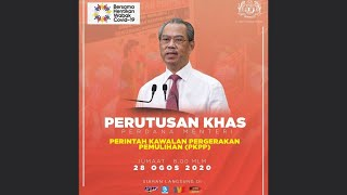 Perutusan Khas PKPP (28 Ogos 2020)