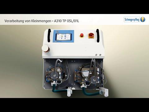 Sensible oder kostenintensive Vergussmedien | A310 TP 05L/01L für die Verarbeitung von Kleinmengen