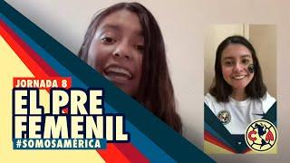 🔴 EN VIVO: EL PRE Femenil - América Vs Mazatlán FC - Jornada 8