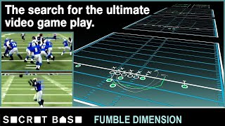 We made the best NFL play ever for the worst NFL team ever | Fumble Dimension thumbnail