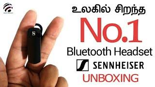 SENNHEISER VMX 200 BLUETOOTH HEADSET UNBOXING & REVIEW - TAMIL