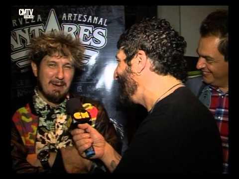 Los Auténticos Decadentes video Entrevista CM - Show Luna Park - Mayo 2015