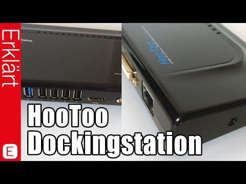 Dockingstation für PCs mit USB 3.0, HDMI- und LAN-Anschluss - Test / Review (Deutsch)
