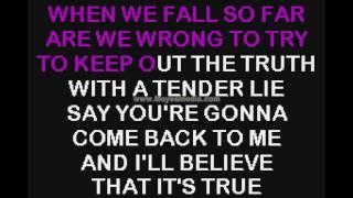 Dolly Parton   Tender Lie SC HD Karaoke PK01381