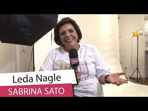 6e701d595befe Leda Nagle fala sobre o nome da filha de Sabrina Sato e Duda (2018)