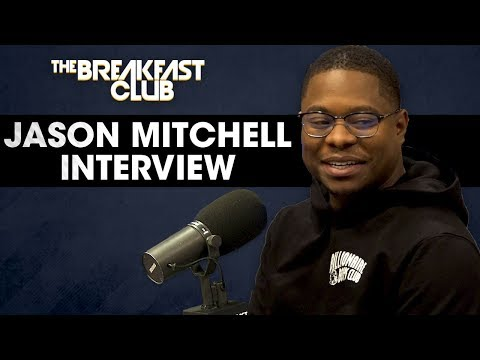 Jason Mitchell Talks His Breakout Role In 'Straight Outta Compton', Working On 'The Chi' + More
