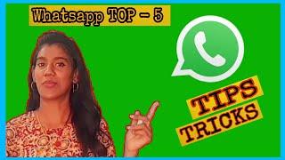 Whatsapp Tips and Tricks | Top 5 | Tamil | MCT Vanitha
