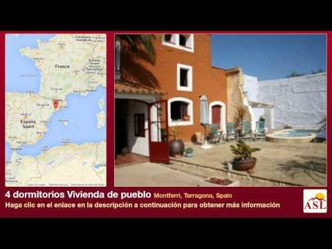 4 dormitorios Vivienda de pueblo se Vende en Montferri, Tarragona, Spain