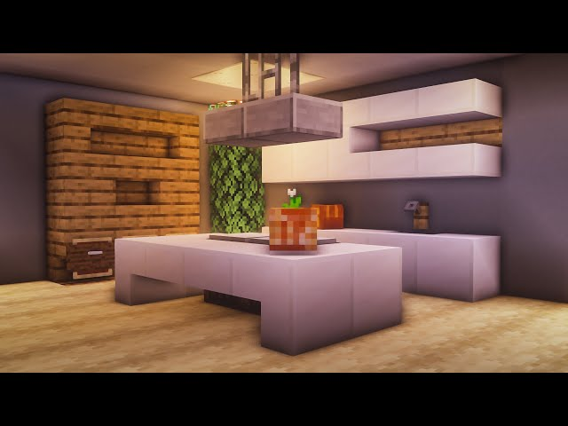Minecraft Kitchen Ideas Delicious Recipes To Give Your Next Build Some Pizzazz Pcgamesn