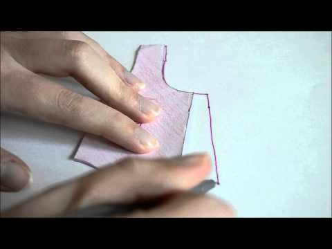 How to draft a maternity blouse tutorial (Carme blouse pattern Sew-Along EN)