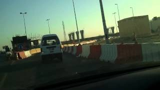 preview picture of video 'manama Bahrain commute to the US Navy base'