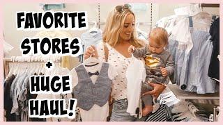 CUTE BABY BOYS CLOTHES! WHERE I SHOP & HUGE HAUL! | OLIVIA ZAPO