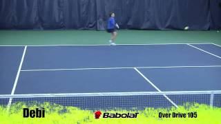 Ρακέτα τέννις Babolat Drive 105 video