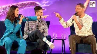 Aladdin Cast Share Funniest On Set Stories