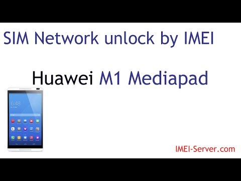 Unlock-Instruction for Huawei Mediapad M1 from Velcom Belarus