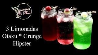3 Limonadas Party I OTAKU I HIPSTER I GRUNGE
