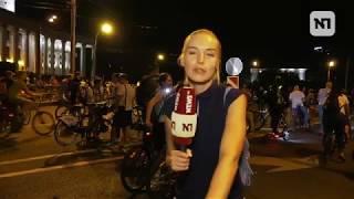 Ночной велопарад стал смотром необычной техники в Москве