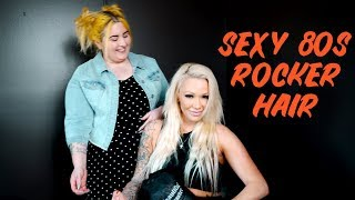 Sexy 80's Bombshell Rocker Hair