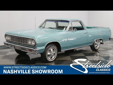 Video of Classic 1964 El Camino Offered by Streetside Classics - Nashville - QI3A