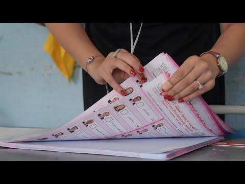 Présidentielle en TUNISIE : Retour en IMAGES sur le 1er tour de l'élection