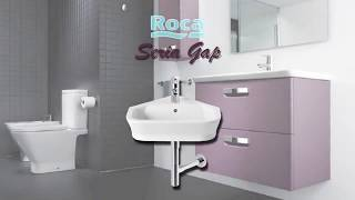 Умывальник Roca The Gap 60 7.3274.7.200.0 мебельный видео