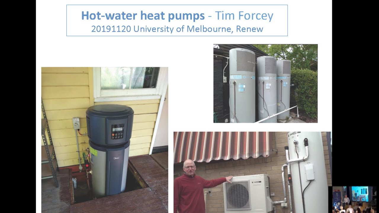 Hot water heat pump considerations