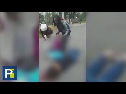 Disparando a diestra y siniestra, sicarios matan a una madre y a su bebé en plena calle de