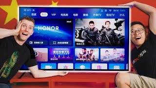 We Got the China-Only Huawei TV!