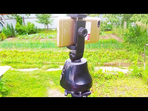 Поворотный штатив для смартфона Gimbal 360 ° с автоматическим отслеживанием лица и объектов