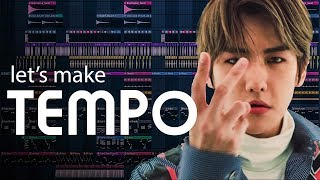 let's make the beat from EXO - Tempo