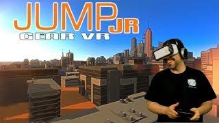 Jump JR Gear VR Gameplay - Radical VR Jumping Game