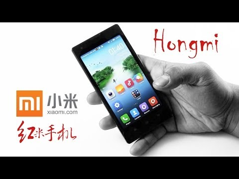 Xiaomi Hongmi (Red Rice) Unboxing & Hands On