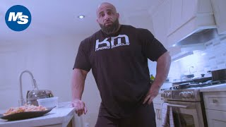 What Bodybuilders Eat for Lunch | Fouad Abiad's Bodybuilder Bulk Meal