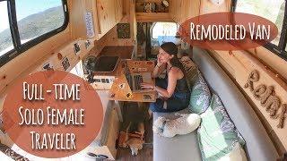 Solo Female Van Life: Living On The Road Full Time (Again)!