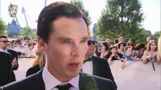 Benedict Cumberbatch - Red Carpet (2012 BAFTA TV)
