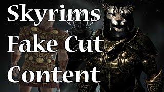 В Skyrim есть вырезанный контент! (нет) (rus vo)