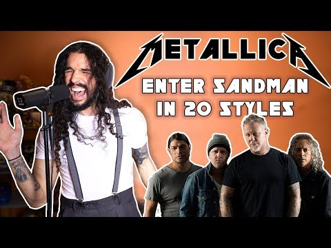 Metallica's Enter Sandman, Covered in 20 Different Musical Styles
