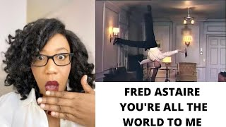 OMG!! FRED ASTAIRE DANCES ON A ROOF -  YOURE ALL THE WORLD TO ME (ROYAL WEDDING 1951) | REACTION