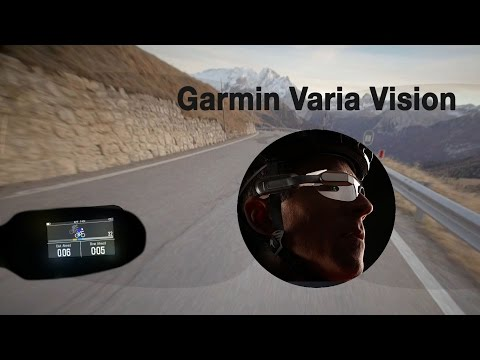 Gafas Garmin Varia Vision: opinión