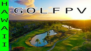 Drone ❌cursion - GOLFPV - FPV Drone Footage at a Hawaiian Golf Course