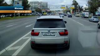 В Москве водители наказали очень наглого таксиста, который не пропустил карету скорой помощи