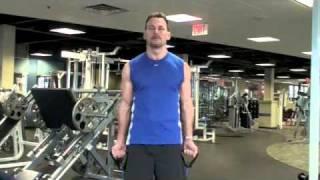 Calgary Fitness Tutorial - Elastic Band Bicep Curl