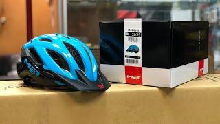Велошлем Met Crossover (3HM109) - Распаковка и обзор