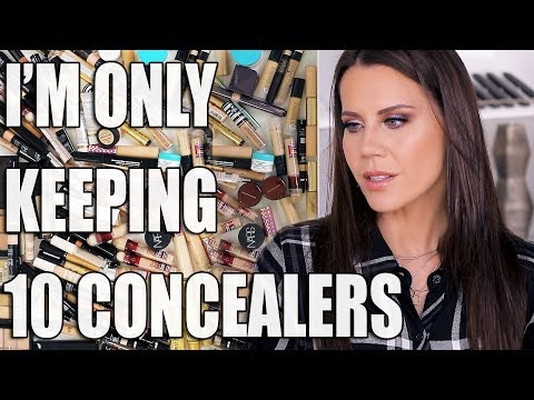 KEEPING 10 CONCEALERS | Bye Bye Fails