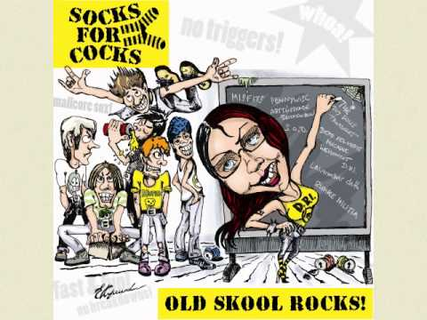 SOCKS FOR COCKS - Old Skool Rocks! (2013) - Album Trailer