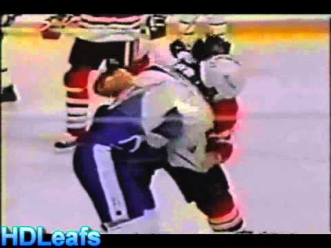 Wendel Clark Fight Highlights