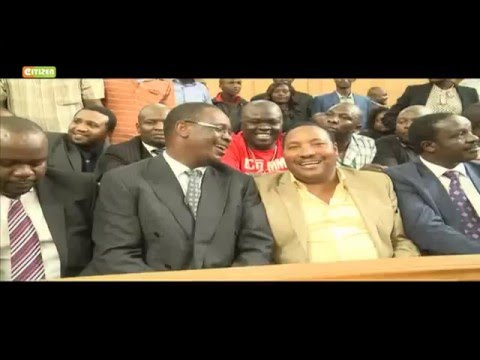 Waititu wants Supreme Court judges to declare Kidero's seat vacant