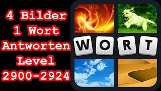 4 Bilder 1 Wort - Level 2900-2924 - Löse 6 Rätsel, in denen Leute Sport treiben! - Lösungen Antw